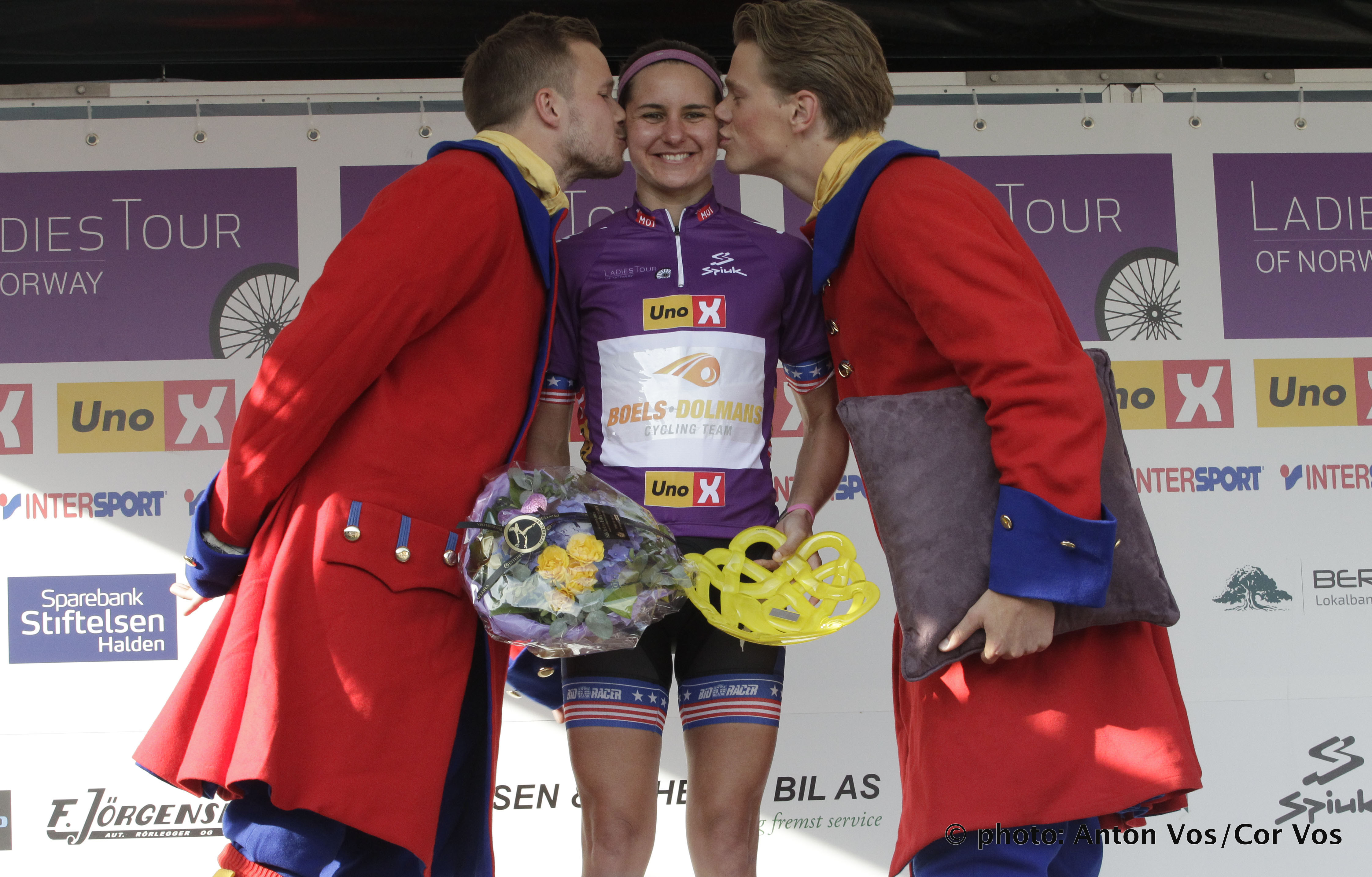 Halden - Norway - wielrennen - cycling - radsport - cyclisme - Guarnier Megan of Boels Dolmans Cycling Team  pictured during  stage - 1 of the Ladiestour of Norway 2015 - photo Anton Vos/Cor Vos © 2015
