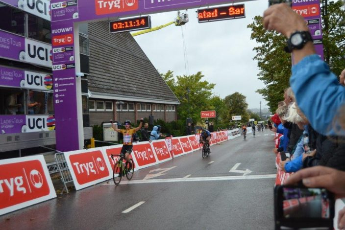 Final Results From Stage 2 Ladies Tour Of Norway